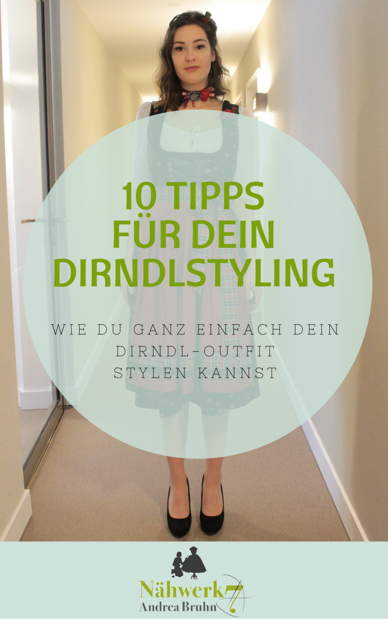 Freebie 10 Tipps für dein Dirndlstyling