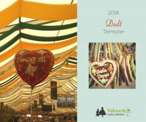 Volksfeste und Dulten 2018