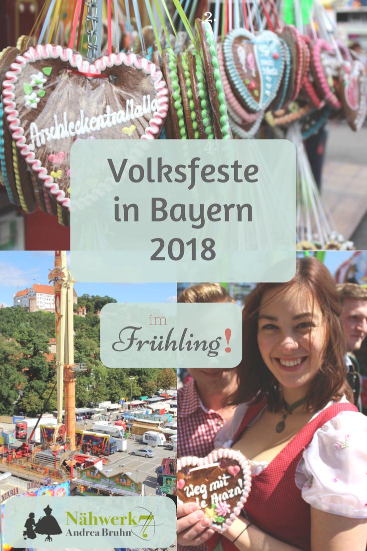 Nähwerk7 Volksfeste 2018