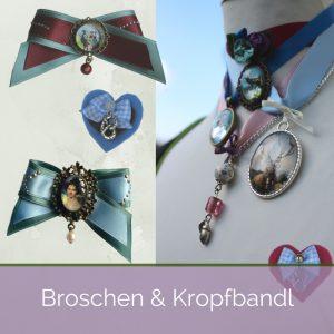 Isar Liesl Broschen und Kropfbandl Shop