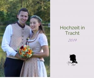 Isar Liesl Hochzeit in Tracht 2019