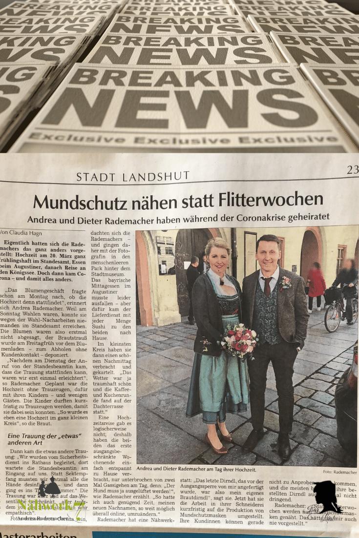 Corona Hochzeit Landshut Isar Liesl Nähwerk7