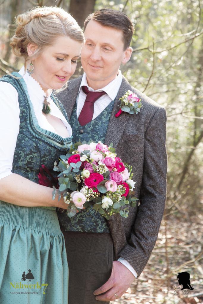 Hochzeit im Dirndl 2020 Isar Liesl Nähwerk7 Landshut