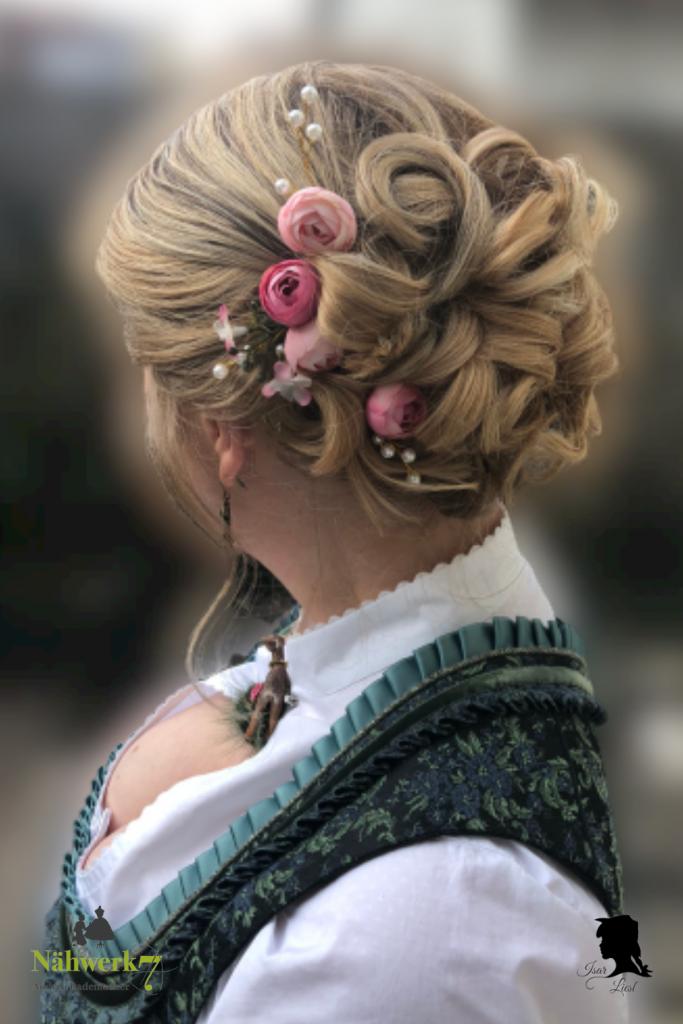 Isar Liesl Nähwerk7 Brautfrisur Hochzeit im Dirndl 2020