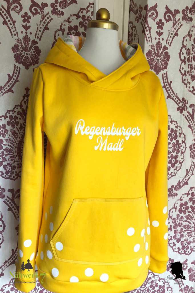Nähwerk7 Sweatshirt Regensburger Madl